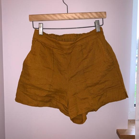 Linen Aritzia Shorts